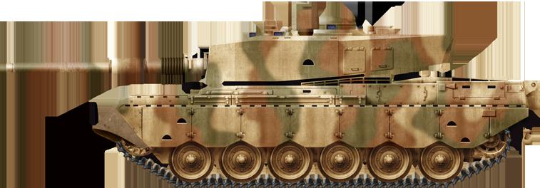 Olifant Mk2 Main Battle Tank