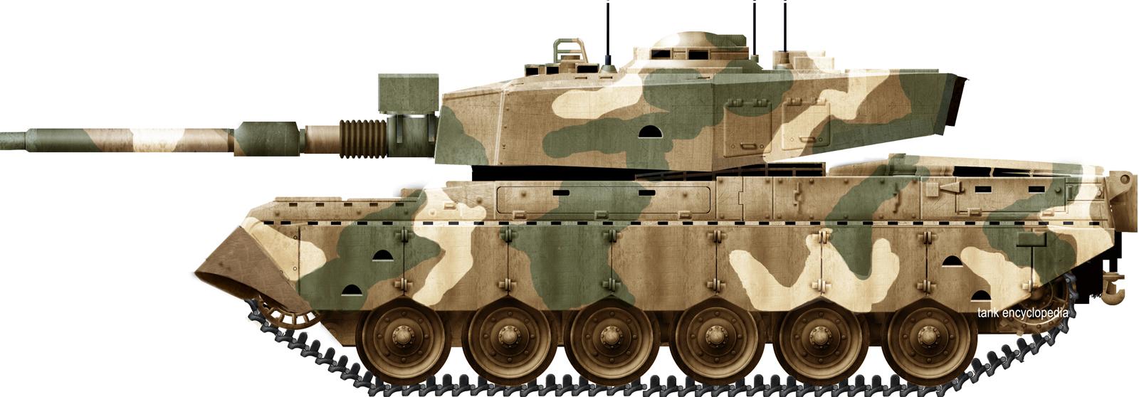 Olifant Mk1B Main Battle Tank