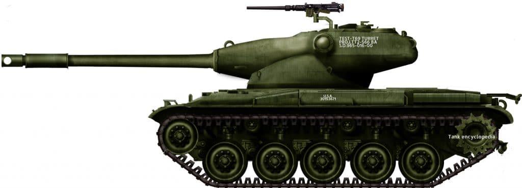 Medium Tank T69