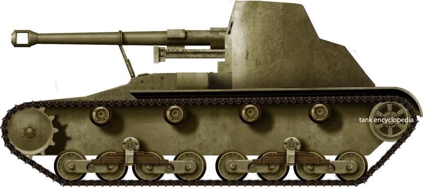Cañón Autopropulsado de  75/40mm Verdeja