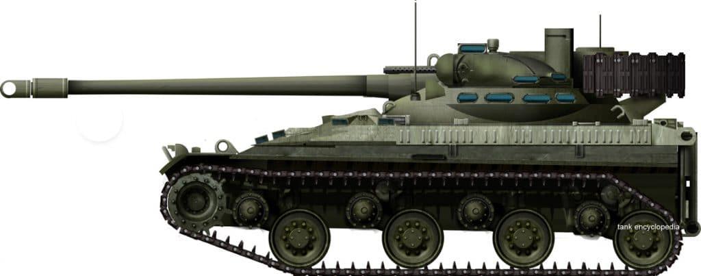 76mm Gun Tank T92