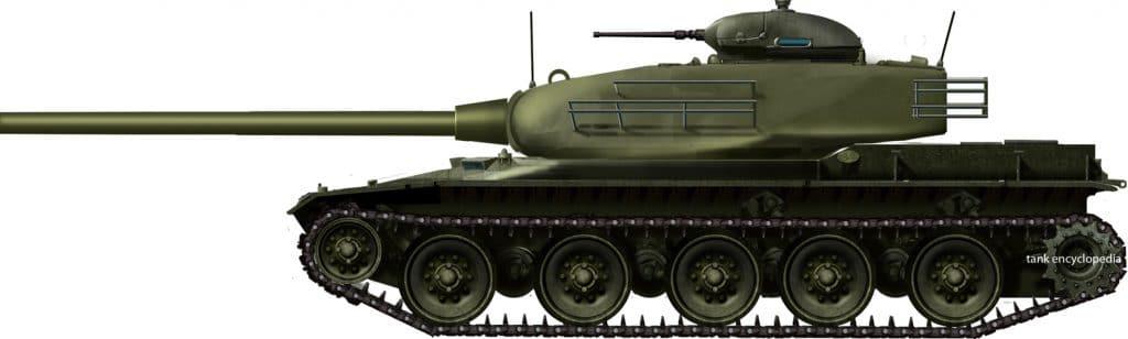 FV4201 Chieftain/90mm Gun Tank T95 Hybrid