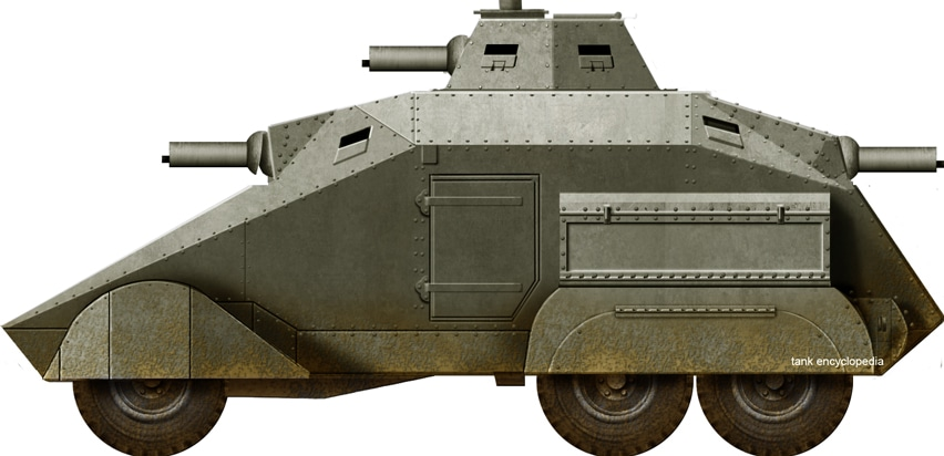 Wilton-Fijenoord Armored Car