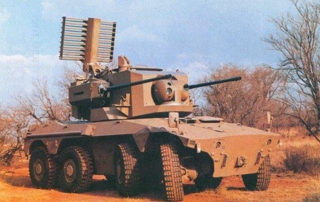 Rooikat Wheeled Tank 1989 Main Sandf Combat Vehicle