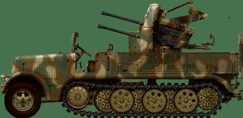 SdKfz-7/1 Flakvierling