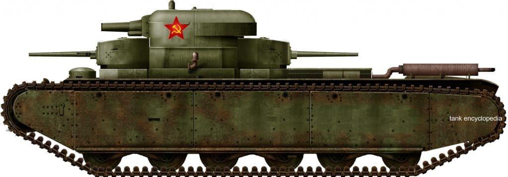T-35 Prototypes