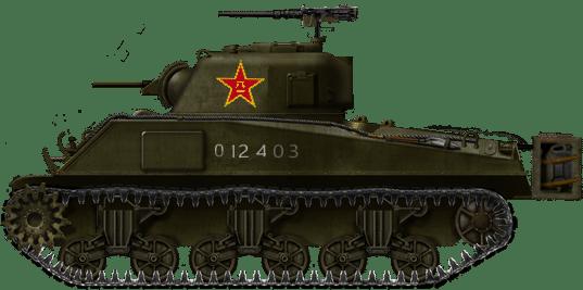 M4A2 Sherman (Chinese Service)