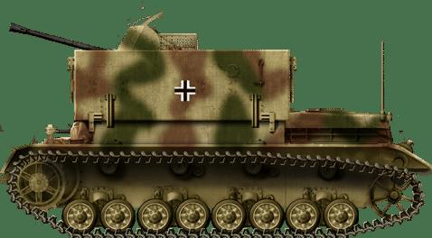 Flakpanzer IV (3.7cm Flak 43) 'Möbelwagen'