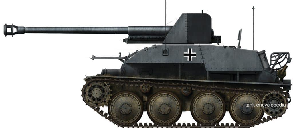 Panzerjäger 38(t) für 7.62 cm PaK 36(r) (Sd.Kfz. 139) Marder III