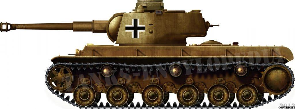 Panzerkampfwagen KV-1B 756(r) (KV-1 with 7.5cm KwK 40)