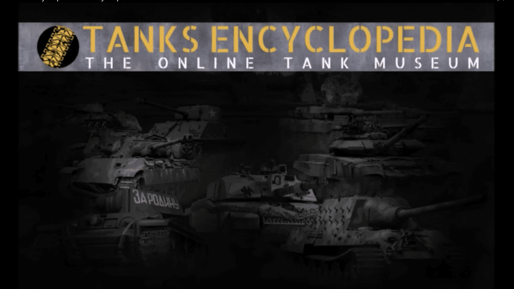 Tanks Encyclopedia Weekly Report #8