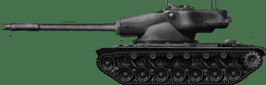 155mm Gun Tank T58