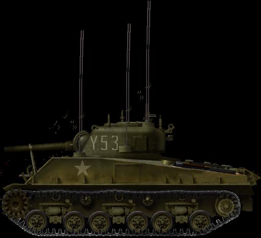 Medium Tank M4A3 (105) HVSS 'Porcupine'