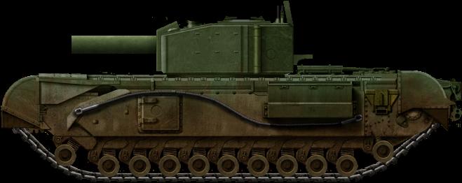 Churchill Mk. III With 'Ardeer Aggie' Mortar