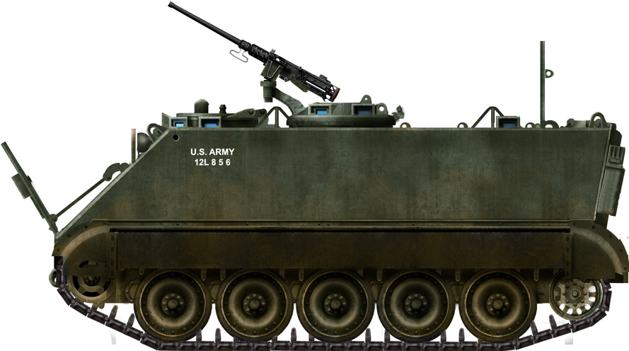 Armored Personnel Carrier T113E1 and E2 (Development of the M113)