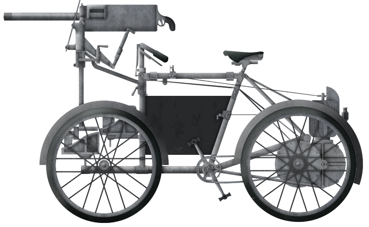 Simms' Quadricycle 'Motor Scout'