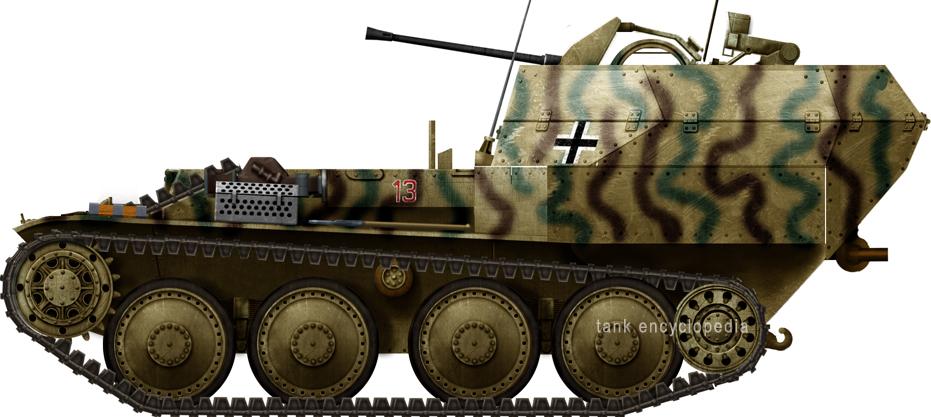 Flakpanzer 38(t) auf Selbstfahrlafette 38(t) Ausf.M (Sd.Kfz.140)
