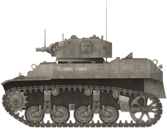E7-7 Mechanized Flamethrower