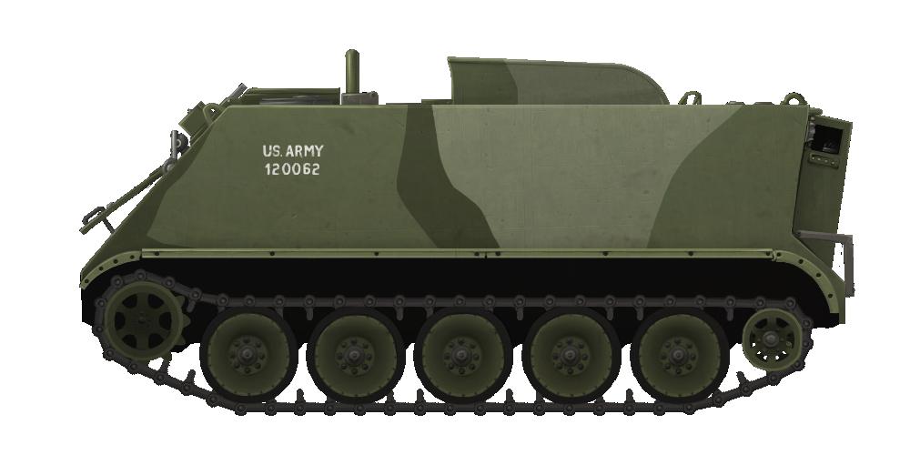 Armored Personnel Carrier M113A1/2E 'HOTROD'