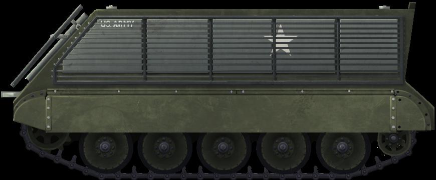 Bar-Armor Experiments on M113 APCs in The Vietnam War