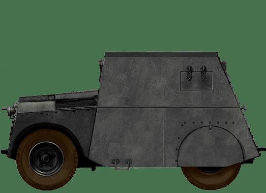 Mk. IX Armoured Car (Standard Beaverette in Irish Service)