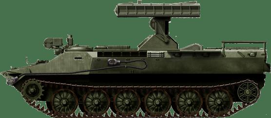9K31 Strela-10 SAAM variant