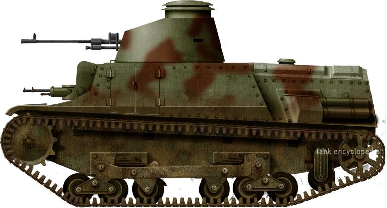 Carro de Combate de Infantería tipo 1937