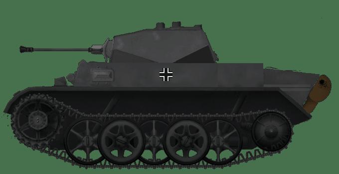 Panzer II Ausf. H & Ausf. M (VK9.03)