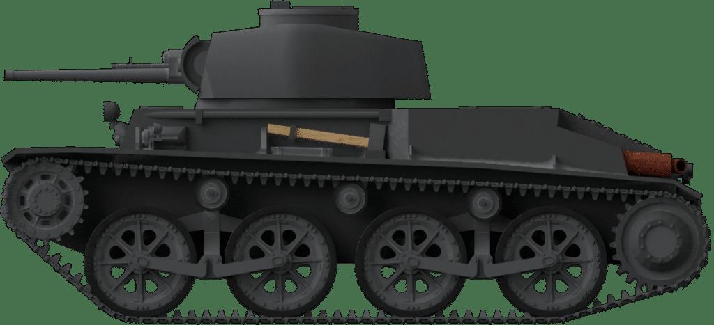 Panzerspähwagen II Ausführung Škoda