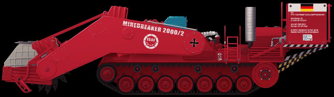Minenräumer 'Minebreaker 2000/2'