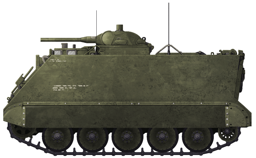 Self-Propelled Flame Thrower M132 'Zippo'