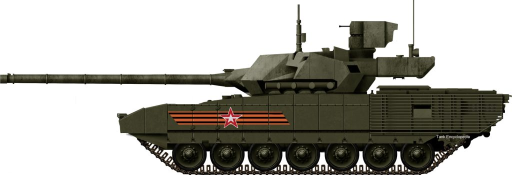 t-14 armata the latest, 5th generation russian main battle tanks, accepted  in service in 2014, after a long development  a radical departure from  previous