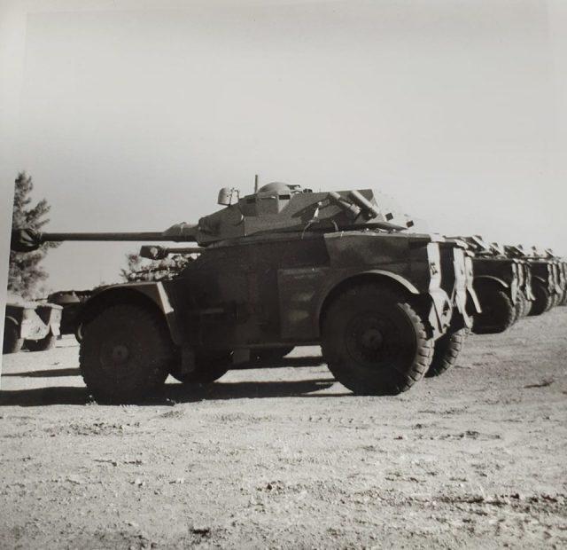 Eland 90 Mk7 troop - Grootfontein mid-1980s