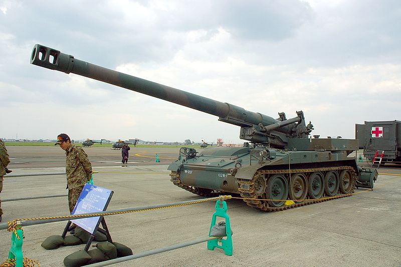 155 mm self-propelled howitzer M110A2
