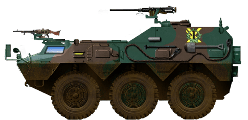 Type 82 wheeled Command and Communication vehicle