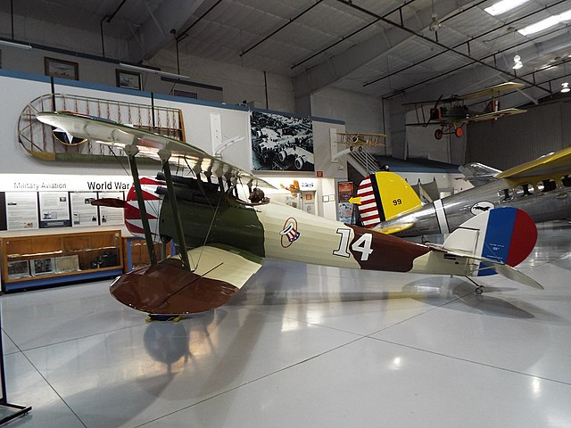 Arizona Mesa commemorative Air Force Museum Nieuport 28
