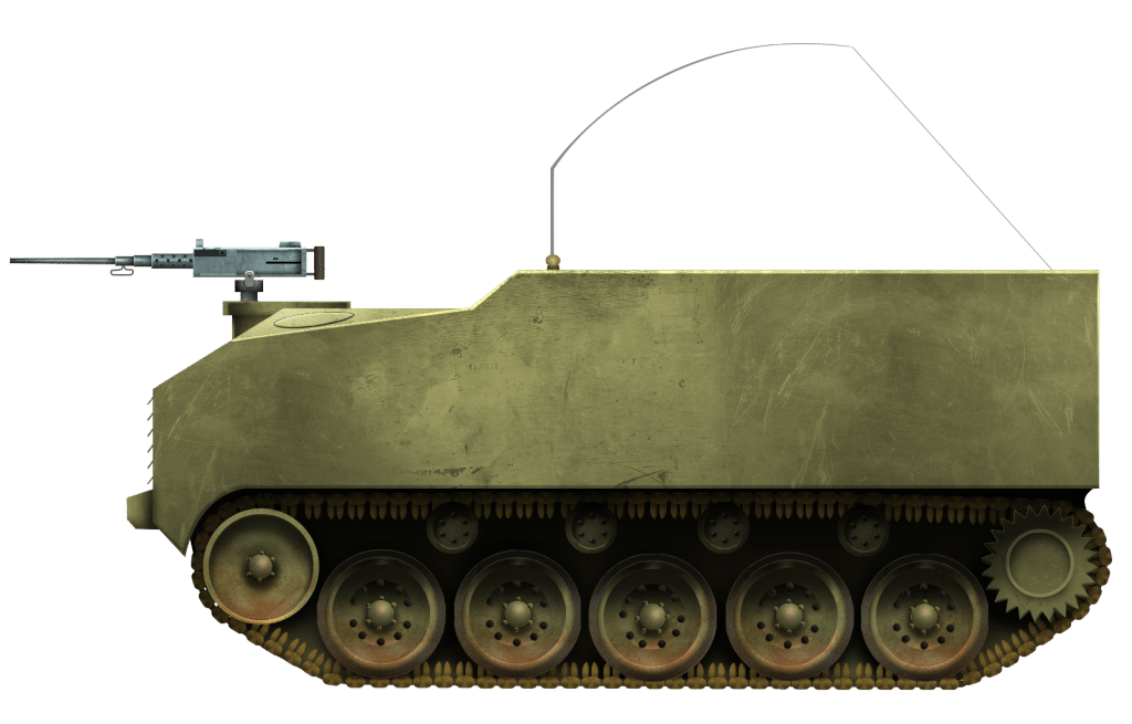 Armored Utility Vehicle T13 and Cargo Carrier T33