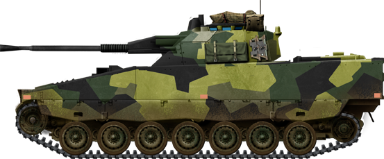 Swedish CV9040A IFV