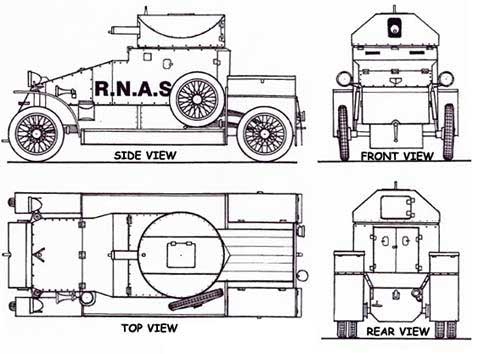 4 view technical drawing