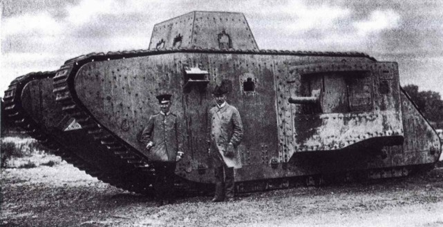 Wwi german tanks and armored cars 1914 1918