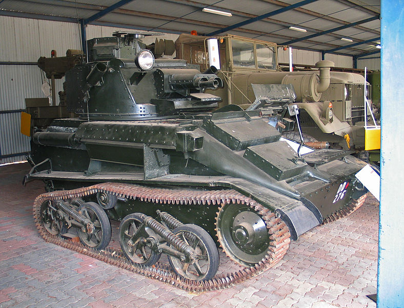 Australian Vickers Mark VI light tank
