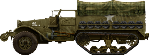 Fotos american m2 half track and m3 gun motor carriage vehicles date