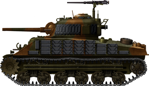 Sherman M4A2, early production