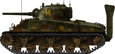 Sherman M4A2, mid production