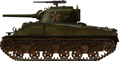 Sherman M4A3, mid production version