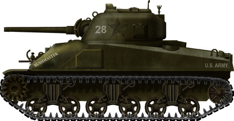 M4 composite hull of the 96th Infantry Division, Leyte, fall 1944