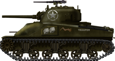 M4 composite hull, Philippines Invasion, March 1945