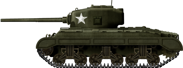 T23 prototype, fall 1943.