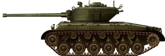 T23E3 prototype, early 1944.