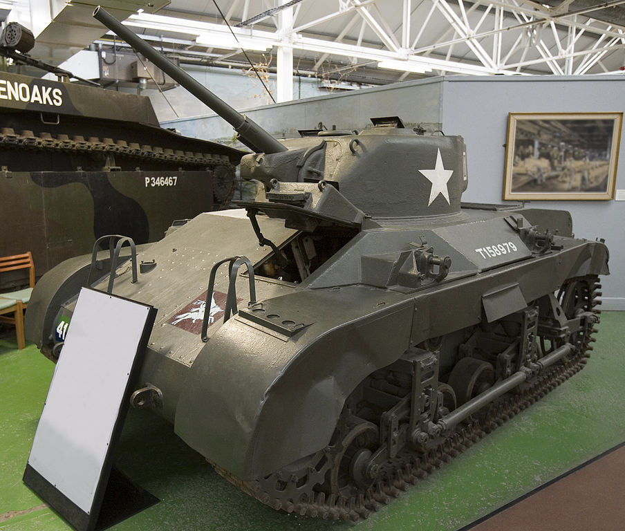 M22 Locust light tank at Bovington.